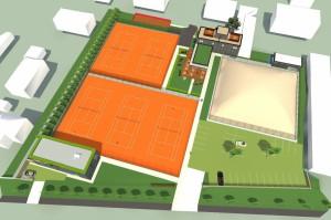 Tenisový a sportovní areál Opava